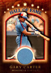 2003 Topps Traded Hall of Fame Relics #GC Gary Carter
