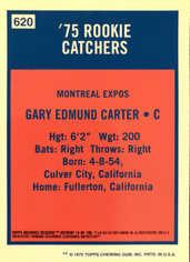 2001 Topps Archives Reserve #14 Gary Carter 75
