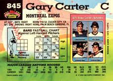 1992 Stadium Club #845 Gary Carter