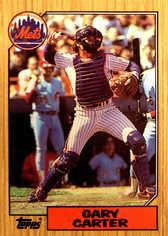 1987 Topps Tiffany #20 Gary Carter