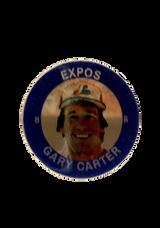 1985 Seven-Eleven Coins #C9 Gary Carter