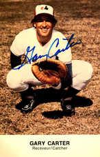 1977 Expos Postcards #8 Gary Carter