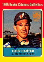 2001 Topps Archives Autographs #TAA145 G.Carter B2 SP/200