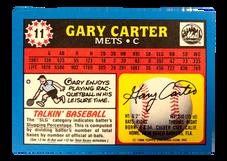 1988 Topps UK Minis #11 Gary Carter