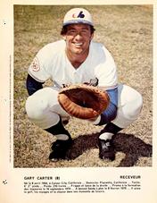 1977 Dimanche/Derniere Heure #GACA Gary Carter (8-1/2X11)
