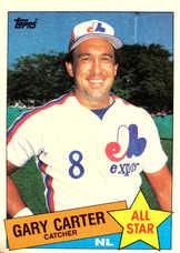 1985 Topps #719 Gary Carter AS