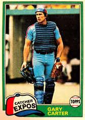 1981 Topps #660 Gary Carter