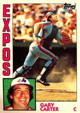 1984 Topps #450 Gary Carter