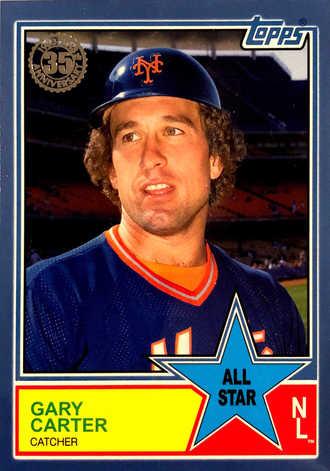2018 Topps S2 1983 Topps Baseball All Stars Blue #83AS73 Gary Carter