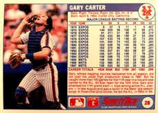1988 Sportflics #28 Gary Carter