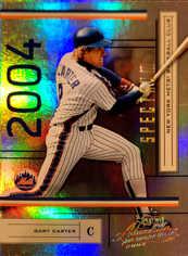 2004 Absolute Memorabilia Spectrum Gold #131 Gary Carter/50