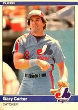 1984 Fleer #271 Gary Carter