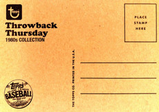 """2014 Topps Wall Art """"80s #TBT Throw Back Thursday 21 Jump St."""" 5X7 Print Gary Carter/99"""