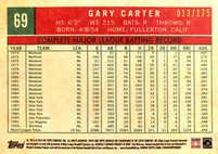 2018 Topps Archives Purple #69 Gary Carter/175