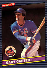 1986 Donruss #68 Gary Carter