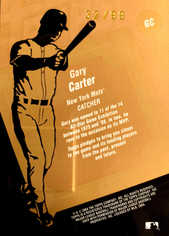 2004 Topps Clubhouse Copper Relics #GC Gary Carter Jkt/99