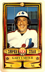 1983 Perma-Graphic Credit Cards #3 Gary Carter