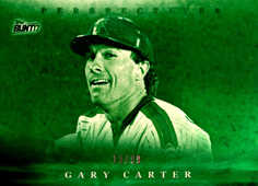 2017 Topps Bunt Perspectives Green #PGG Gary Carter/99