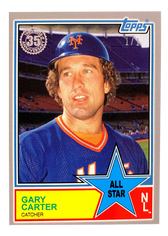2018 Topps On Demand Mini 83 All Stars Platinum #83AS73 Gary Carter 1/1
