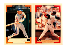 1986 Topps Stickers #96 Gary Carter (255)