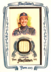 2013 Topps Allen and Ginter Framed Mini Relics #GC Gary Carter