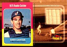 2001 Topps American Pie Rookie Reprint Relics #BBRRGC Gary Carter Bat