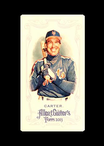 2013 Topps Allen and Ginter Mini #8 Gary Carter