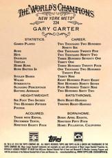 2016 Topps Allen & Ginter 5X7 #224 Gary Carter/49