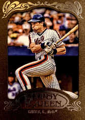 2012 Topps Gypsy Queen Framed Gold #251 Gary Carter