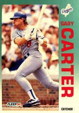 1992 Fleer #450 Gary Carter