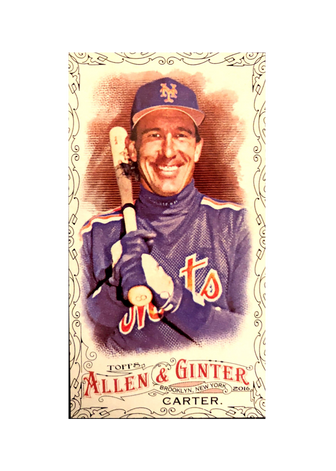 2016 Topps Allen & Ginter Mini Black Bordered #224 Gary Carter