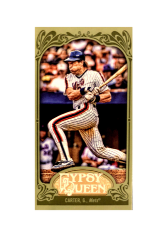2012 Topps Gypsy Queen Mini Green #343 Gary Carter