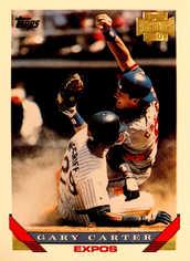 2001 Topps Archives #189 Gary Carter 93