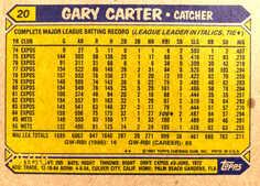 2005 Topps All-Time Fan Favorites Originals Relics #GC Gary Carter Bat 87/50
