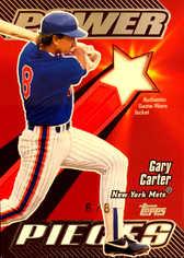 2004 Topps Clubhouse Power Pieces Relics #GC Gary Carter Jkt/8