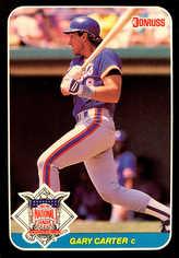 1987 Donruss All-Stars #19 Gary Carter