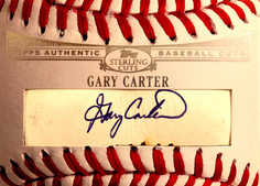 2006 Topps Sterling Baseball Cut Signatures #GC Gary Carter