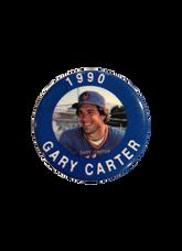 1990 MLBPA Baseball Buttons (Pins) #17 Gary Carter