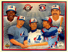 1993 Upper Deck Sheets #27 The Expos' 25th Anniversary (August 28, 1993)/41600