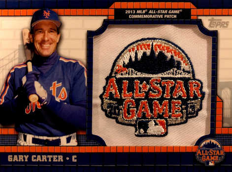 2013 Topps All-Star FanFest Exclusive Patches #PC6 Gary Carter