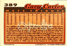 1992 O-Pee-Chee #389 Gary Carter TRIBUTE