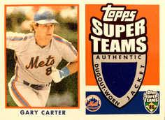 2002 Topps Super Teams Relics #STRGCJ Gary Carter Jacket