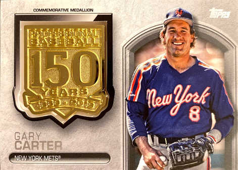 2019 Topps Update 150th Anniversary Manufactured Medallions #AMMGC Gary Carter