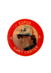 1984 Seven-Eleven Coins #C15 Gary Carter