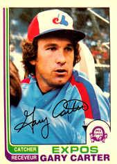 1982 O-Pee-Chee #244 Gary Carter