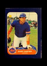 1986 Fleer Mini #17 Gary Carter