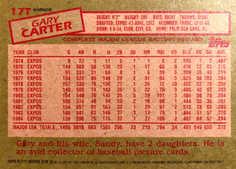 2001 Topps Chrome Traded Retrofractors #T111 Gary Carter 85
