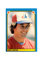 1983 Fleer Stickers #262 Gary Carter