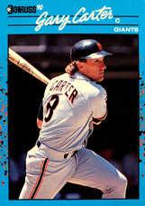 1990 Donruss Best NL #48 Gary Carter