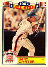 1988 Topps Glossy All-Stars #20 Gary Carter